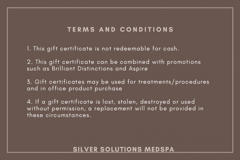 Gift Certificate Terms